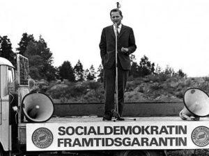 Sveriges statsminister, Olof Palme, mördad